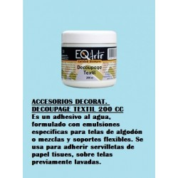 Accesorios Decorat. Decoupage Textil 200 Cc.
