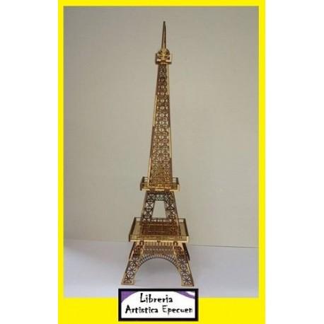 Torre Eiffel - Mdf - 30 y 60 Cm - Laser