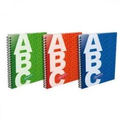 Cuaderno Rivadavia ABC espiralado. 100 hojas.
