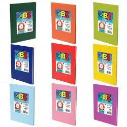 Cuaderno Laprida - ABC. 50 hojas. Varios colores.