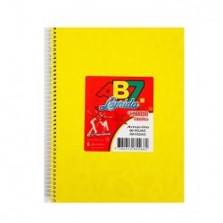 Cuaderno Laprida - ABC espiralado. 60 hojas. Varios colores.