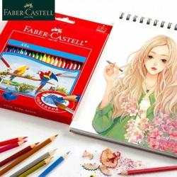 Lapices de color FaberCastell x 24.